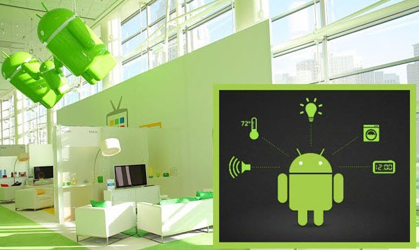 Android Home Automation System Project Explanation