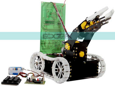 Pick and Place Robotic Arm Kit Circuit by www.edgefxkits.com