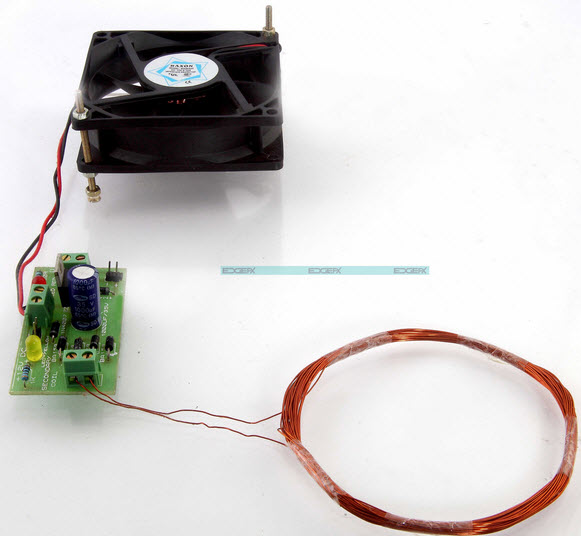 HF based Wireless AC Power Transfer by Efxkits.com