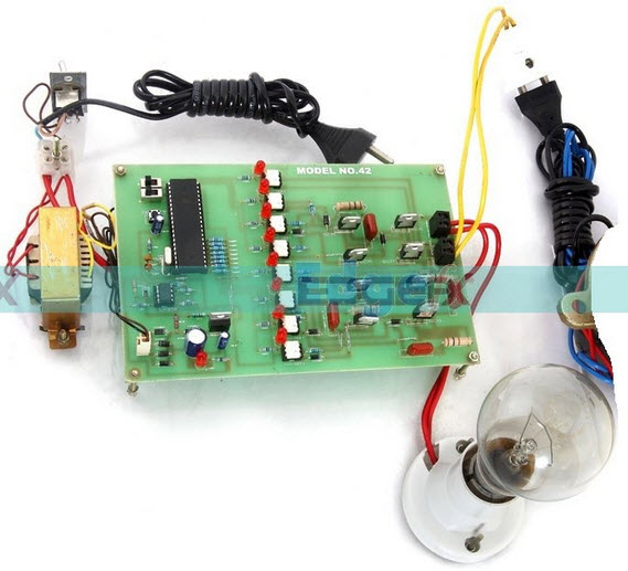 Induction Motor Speed Control using Thyristor based Cyclocoverter by Efxkits.com