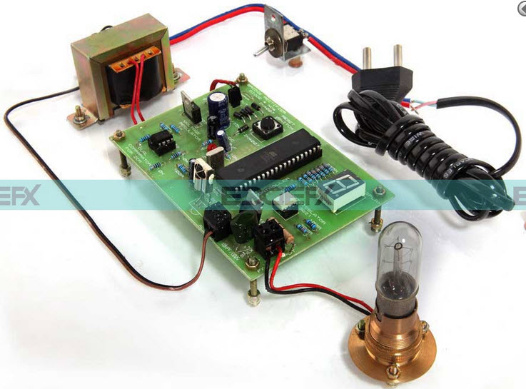 Fan Speed Controller Circuit by Efxkits.com