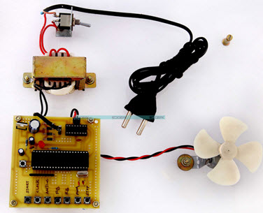 Four Quadrant DC Motor Speed Control with Microcontroller by Efxkits.com