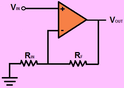 Non-Inverting-Op-Amplifier
