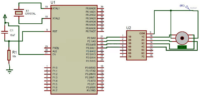 Interfacing Stepper Motor with the 8051