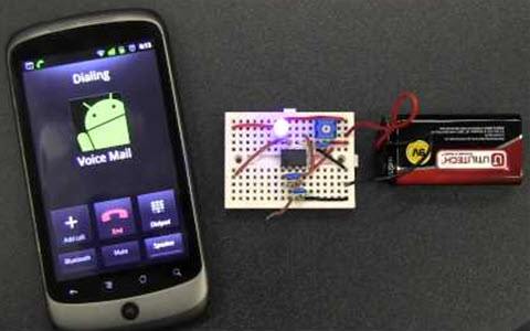 How to make cell phone detector circuit on a breadboard ccuart Images