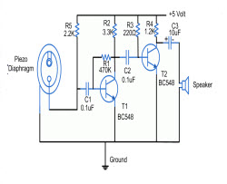 Piezoelectric Sensor Circuit Working And Its Application