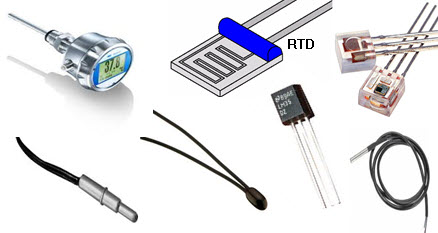 Temperature Sensor types, Working and their Applications